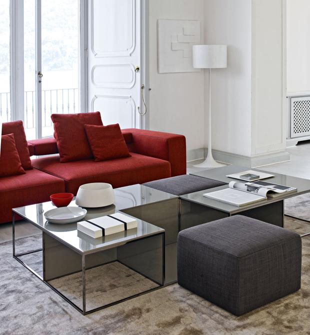 b b italia area couchtisch design paolo piva. Black Bedroom Furniture Sets. Home Design Ideas