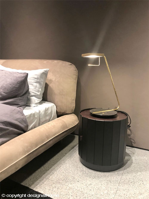 Baxter - NINFEA NIGHT TABLE ( design: PIETRO RUSSO)