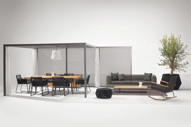 kettal armlehnstuhl landscape design kettal studio. Black Bedroom Furniture Sets. Home Design Ideas