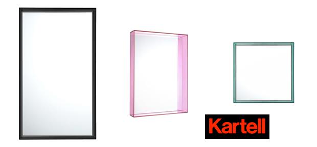kartell only me spiegel design philippe starck. Black Bedroom Furniture Sets. Home Design Ideas