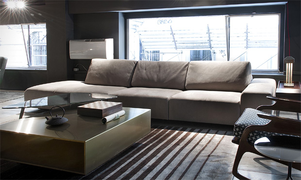 Baxter sofa monsieur modular design mattheo thun for Divano damasco baxter