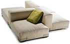 Katell Plastics Duo Sofa Piero Lissoni