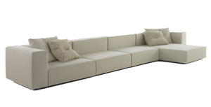 Living Divani Wall Sofa Piero Lissoni