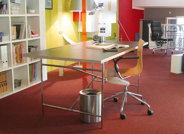 Multiplex Tischplatte Mit Kabelschlitz