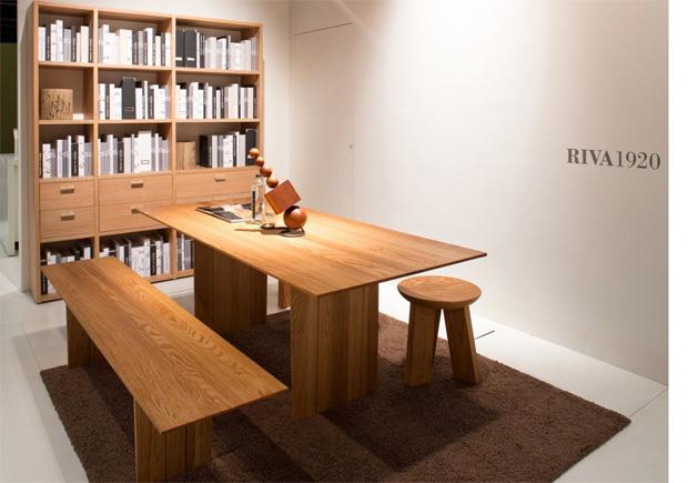 riva 1920 light esstisch design matteo thun. Black Bedroom Furniture Sets. Home Design Ideas