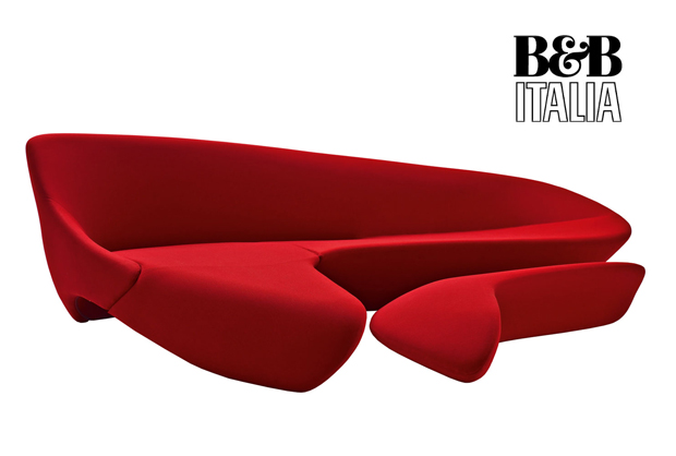 b b italia moon system sofa design zaha hadid 2007. Black Bedroom Furniture Sets. Home Design Ideas