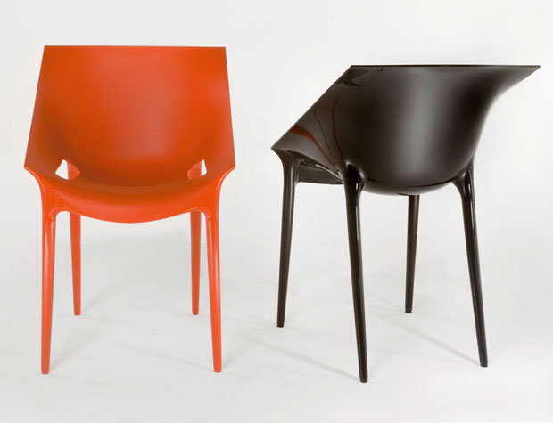 kartell dr yes stapelstuhl design philippe starck und eugeni quitllet. Black Bedroom Furniture Sets. Home Design Ideas