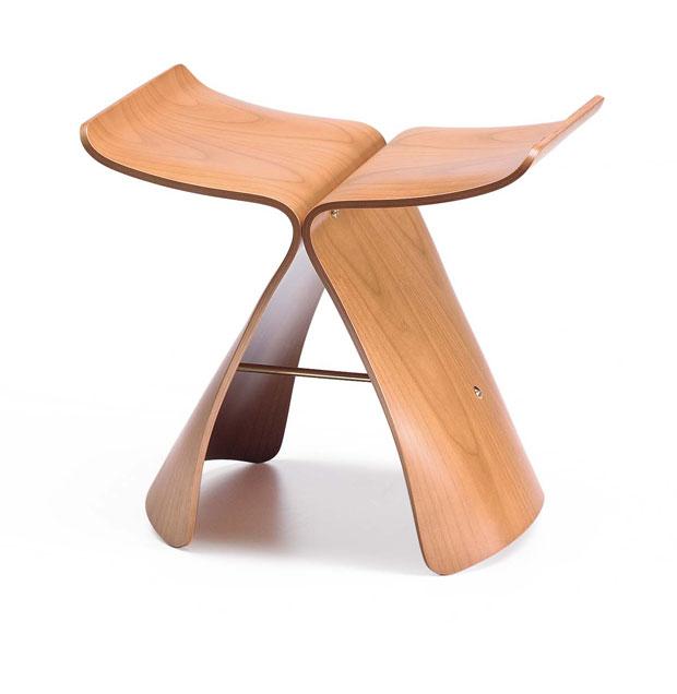 vitra butterfly stool sori yanagi 1954. Black Bedroom Furniture Sets. Home Design Ideas