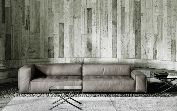 living divani neowall sofa design piero lissoni