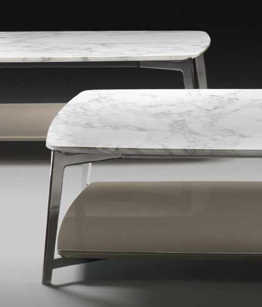 Flexform Double Couchtisch Design Antonio Citterio 2013