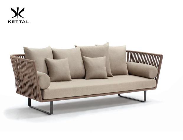 kettal sofa bitta design rodolfo dordoni. Black Bedroom Furniture Sets. Home Design Ideas