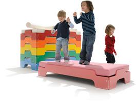 m ller m belwerkst tten kinderstapelliege design rolf. Black Bedroom Furniture Sets. Home Design Ideas