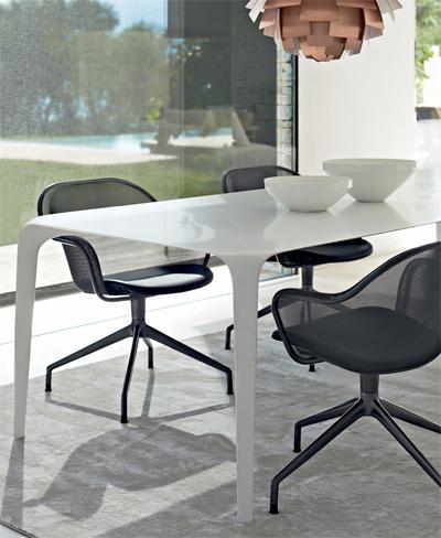 b b italia iuta drehstuhl design antonio citterio. Black Bedroom Furniture Sets. Home Design Ideas