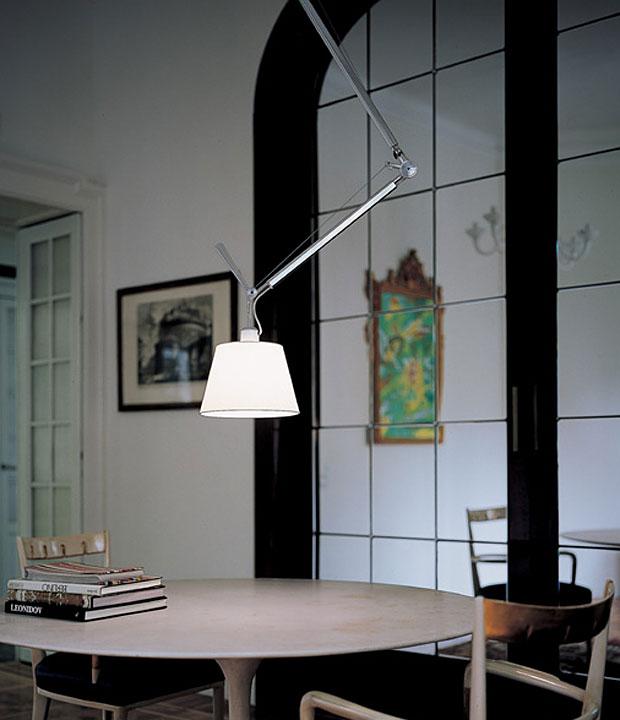 artemide pendelleuchte tolomeo design fassina und de lucci. Black Bedroom Furniture Sets. Home Design Ideas