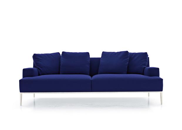 B b italia jean sofa design antonio citterio - Divano luis b b ...