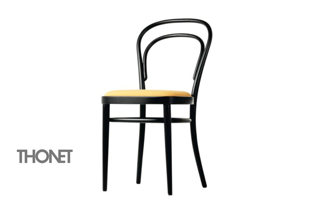 thonet 214 stuhl design michael thonet 1859. Black Bedroom Furniture Sets. Home Design Ideas