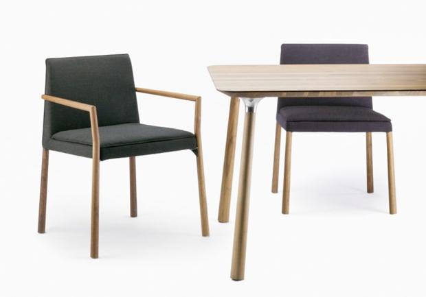 thonet 190 polsterstuhl design lievore altherr molina 2012. Black Bedroom Furniture Sets. Home Design Ideas