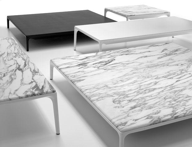 Mdf italia yale couchtisch design jean marie massaud for Designer couchtisch marmor