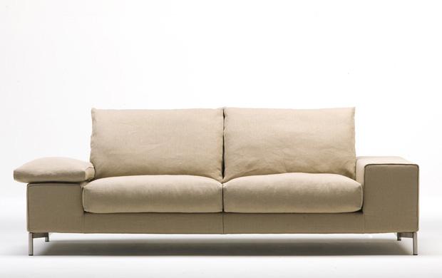 Living divani twice sofa design piero lissoni for Living divani softwall