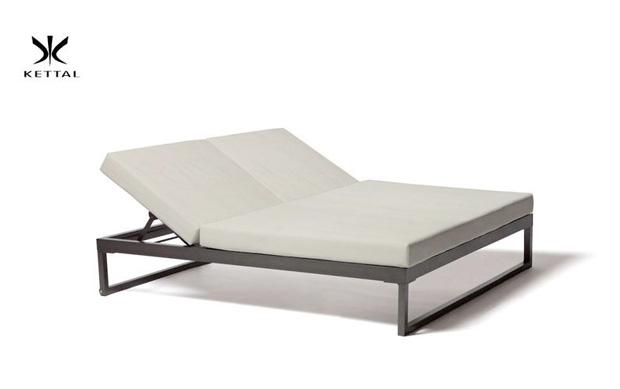 kettal doppelsonnenliege landscape design kettal studio. Black Bedroom Furniture Sets. Home Design Ideas
