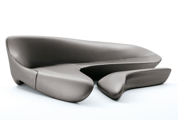 B b italia moon system sofa design zaha hadid 2007 for Divano zaha hadid