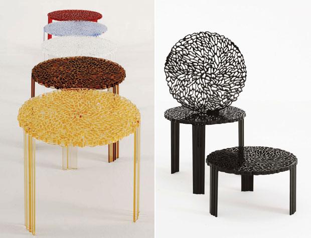 KARTELL - T-TABLE Couchtisch (design: Patricia Urquiola)