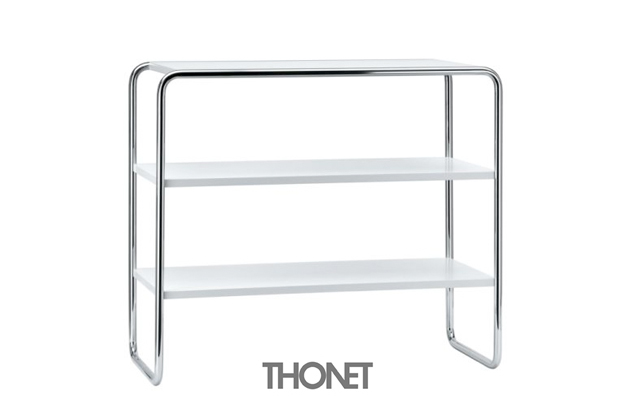 thonet b 22 stahlrohr regal design marcel breuer 128. Black Bedroom Furniture Sets. Home Design Ideas