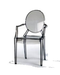 Kartell Louis Ghost Stapelstuhl Design Philippe Starck
