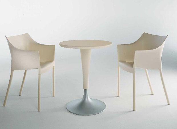 kartell dr na tisch design philippe starck. Black Bedroom Furniture Sets. Home Design Ideas