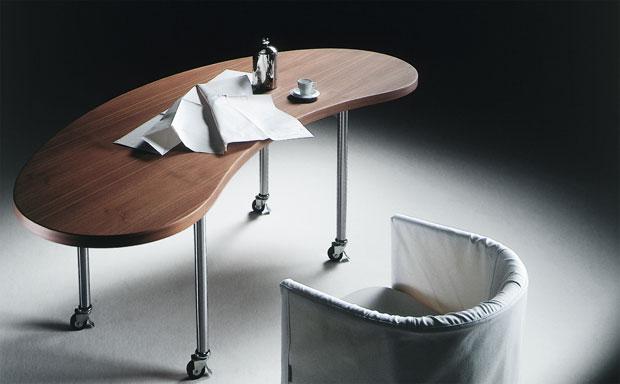 Flexform mixer tisch for Sofa nierenform