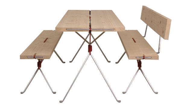 moormann kampenwand tisch design nils holger moormann 2009. Black Bedroom Furniture Sets. Home Design Ideas