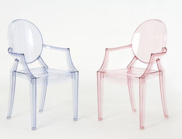 kartell lou lou ghost stapelstuhl desing philippe starck. Black Bedroom Furniture Sets. Home Design Ideas