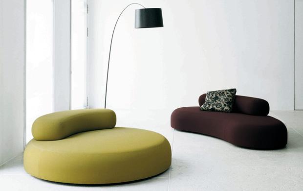 Living divani bubble rock design piero lissoni for Living divani softwall