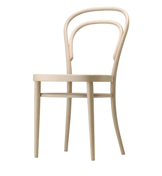 Thonet 214 stuhl design michael thonet 1859 for Stuhl design thonet