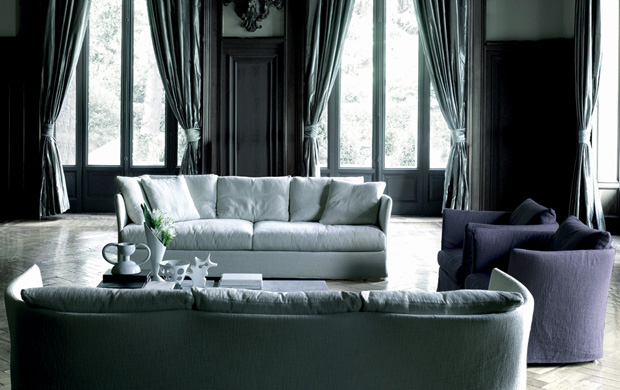 living divani curve sofa design piero lissoni