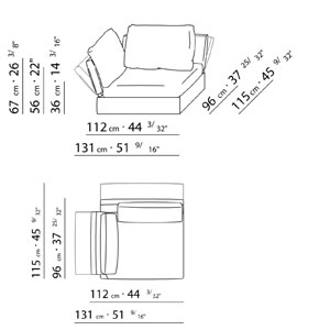 Pin flexform sofa soft dream on pinterest for Sofa zeichnung