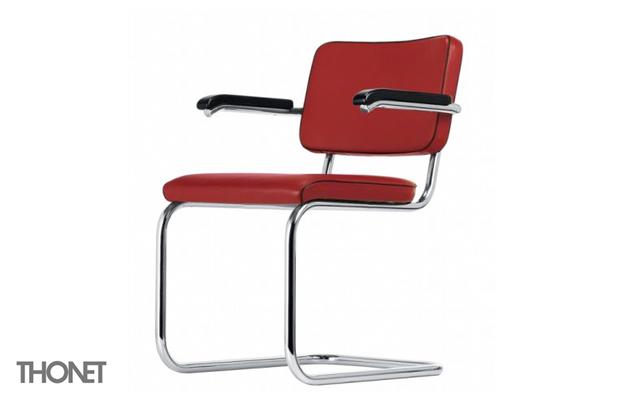 thonet s 64 pv stuhl design marcel breuer mart stam 19329 30. Black Bedroom Furniture Sets. Home Design Ideas