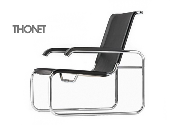 thonet s 35 freischwingersessel design marcel breuer. Black Bedroom Furniture Sets. Home Design Ideas