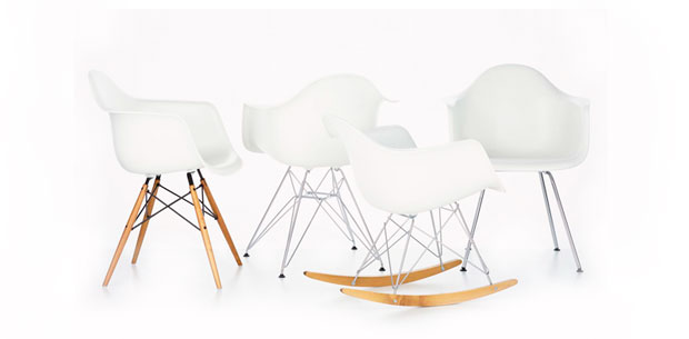 vitra plastic armchair charles ray eames 1950. Black Bedroom Furniture Sets. Home Design Ideas