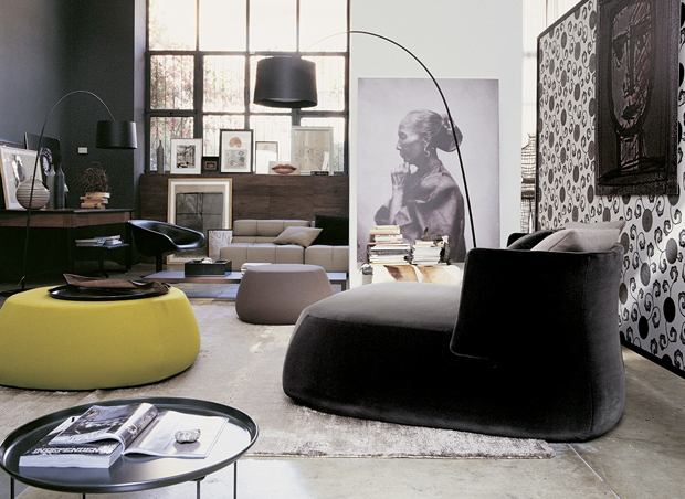 b b italia fat sofa design patricia urquiola. Black Bedroom Furniture Sets. Home Design Ideas