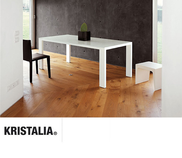 kristalia fifty tisch design ruggero magrini bluezone. Black Bedroom Furniture Sets. Home Design Ideas