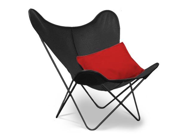 der original hardoy butterfly chair sessel design ferrari hardoy 1939. Black Bedroom Furniture Sets. Home Design Ideas