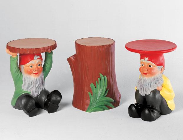 kartell gnomes hocker design philippe starck. Black Bedroom Furniture Sets. Home Design Ideas