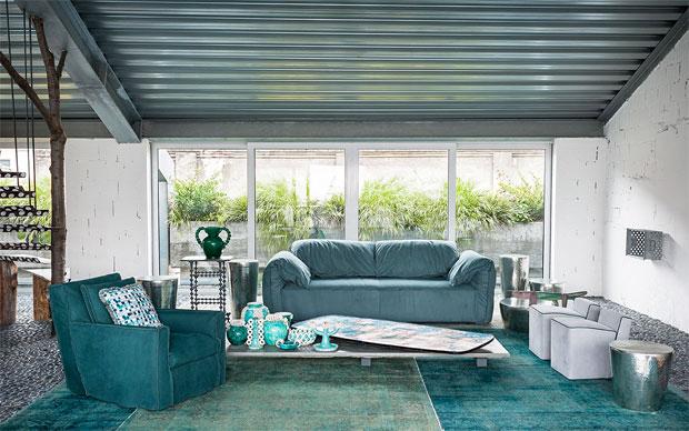 Baxter casablanca sofa design paola navone for Baxter paola navone