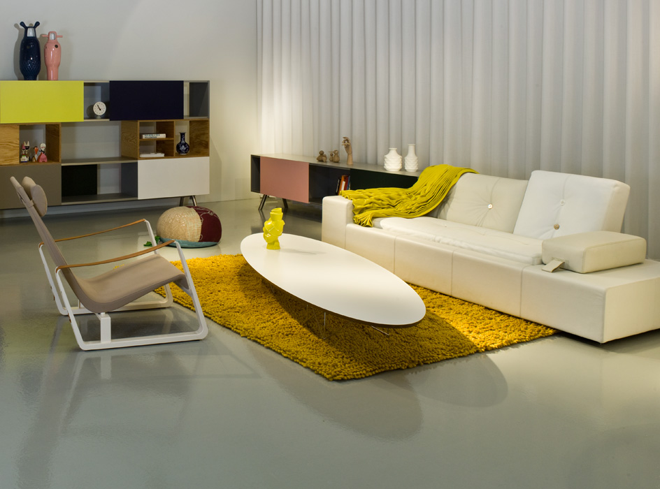vitra polder sofa design hella jongerius 2005 06. Black Bedroom Furniture Sets. Home Design Ideas