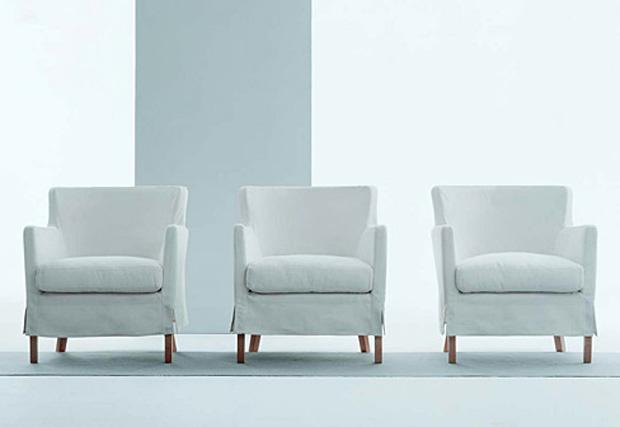 Living Divani Ariel Sessel Design Piero Lissoni