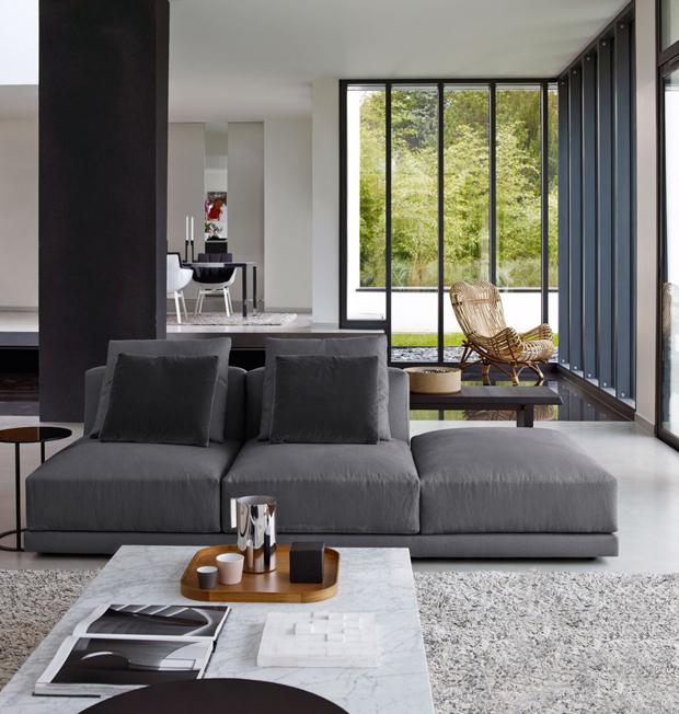 B b italia luis sofa design antonio citterio - Divano luis b b ...
