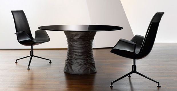 walter knoll bellows table design toan nguyen. Black Bedroom Furniture Sets. Home Design Ideas