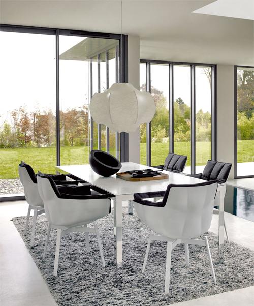 b b italia husk stuhl design patricia urquiola. Black Bedroom Furniture Sets. Home Design Ideas