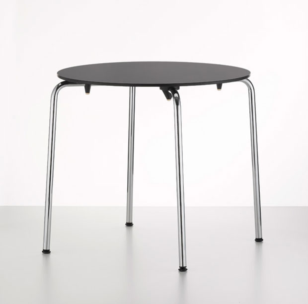 vitra hal table design jasper morrison 2010. Black Bedroom Furniture Sets. Home Design Ideas